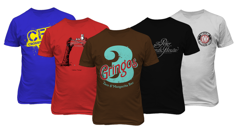 T-shirt & Caps Printing Services